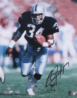 Bo Jackson Signed Raiders 16x20 Photo (Beckett COA & Jackson Hologram) at PristineAuction.com