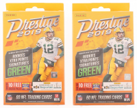 Lot of (2) 2019 Panini Prestige Football Hanger Boxes at PristineAuction.com