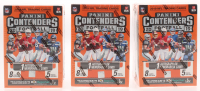 Lot of (3) 2019 Panini Contenders Football Blaster Box with (5) Packs Each at PristineAuction.com