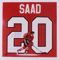 Brandon Saad Signed Blackhawks 18x18 Photo (YSMS COA) at PristineAuction.com