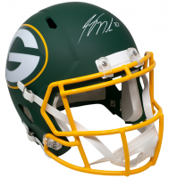 Jordy Nelson Signed Packers Full-Size AMP Alternate Speed Helmet (JSA COA) at PristineAuction.com