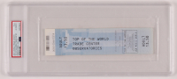 2001 Top of the World Trade Center Unused Ticket (PSA Encapsulated) at PristineAuction.com