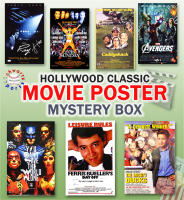 Schwartz Sports Hollywood Classic Movies Signed 11x17 Movie Posters Mystery Box - Series 11 (Limited to 75) ** Multiple Full Size Movie Poster Redemptions** at PristineAuction.com