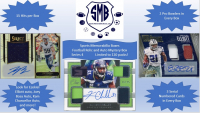 Sports Memorabilia Boxes: Football Only Relic and Auto Hot Mystery Packs! 15 Hits per Box! Limited to 120 (Series 4) at PristineAuction.com