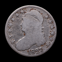 1829 Capped Bust Silver Half Dollar at PristineAuction.com