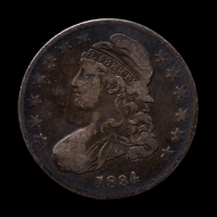 1834 Capped Bust Silver Half Dollar at PristineAuction.com