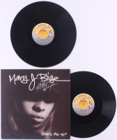 "Mary J. Blige Signed ""What's The 411"" Vinyl Record Album With Inscription (JSA COA) at PristineAuction.com"