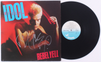 "Billy Idol Signed ""Rebel Yell"" Vinyl Record Album (JSA COA) at PristineAuction.com"
