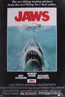 "Richard Dreyfuss Signed ""Jaws"" 24x36 Movie Poster (JSA COA) at PristineAuction.com"