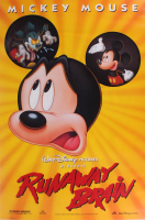 "Walt Disney Presents ""Runaway Brain"" 27x40 Movie Poster at PristineAuction.com"