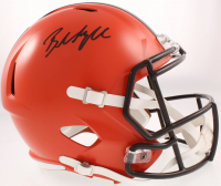 Baker Mayfield Signed Browns Full-Size Speed Helmet (JSA COA) at PristineAuction.com