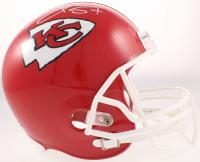 Travis Kelce Signed Chiefs Full-Size Helmet (JSA COA) at PristineAuction.com