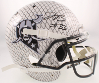 Lynn Bowden Signed Raiders Full-Size Authentic On-Field Hydro Dipped Helmet (Beckett COA) at PristineAuction.com