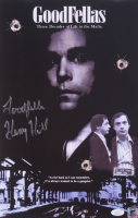 """Henry Hill Signed """"Goodfellas"""" 11x17 Photo Inscribed """"Goodfella"""" (JSA COA & Hill Hologram) at PristineAuction.com"""