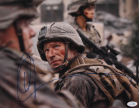 "Aaron Eckhart Signed ""World Invasion: Battle Los Angeles"" 11x14 Photo (AutographCOA COA) at PristineAuction.com"