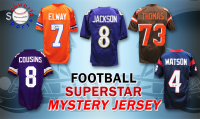 Schwartz Sports Football Superstar Signed Football Jersey Mystery Box - Series 28 (Limited to 100) at PristineAuction.com
