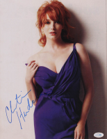 Christina Hendricks Signed 11x14 Photo (AutographCOA COA) at PristineAuction.com