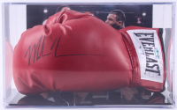 Mike Tyson Signed Boxing Glove with High Quality Photo Display Case (Beckett COA & Fiterman Hologram) at PristineAuction.com