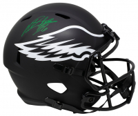 Miles Sanders Signed Eagles Full-Size Eagles Eclipse Alternate Speed Helmet (JSA COA) at PristineAuction.com