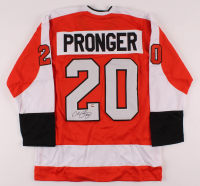 Chris Pronger Signed Jersey (Sports Integrity COA) at PristineAuction.com