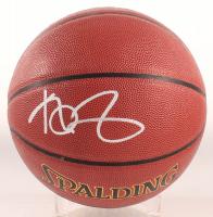 Kevin Garnett Signed Spalding Full-Size NBA Logo Basketball (Schwartz COA) at PristineAuction.com