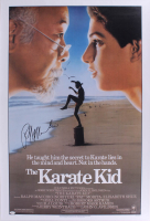 "Ralph Macchio Signed ""The Karate Kid"" 27x40 Movie Poster (JSA COA) at PristineAuction.com"