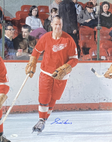 Gordie Howe Signed Red Wings 16x20 Photo (JSA COA) at PristineAuction.com
