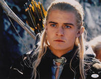 "Orlando Bloom Signed ""The Lord of the Rings"" 11x14 Photo (AutographCOA COA) at PristineAuction.com"