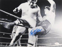 """Chuck Wepner Signed 11x14 Photo Inscribed """"The Real Rocky"""" (JSA COA) at PristineAuction.com"""