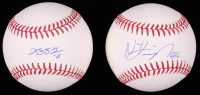 Lot of (2) Signed OML Baseballs with Jung-ho Kang & Nick Kingham (MLB Hologram) at PristineAuction.com