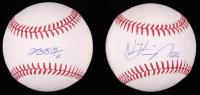 Lot of (2) Signed OML Baseballs with Jung-ho Kang & Nick Kingham (MLB Hologram) at PristineAuction.com