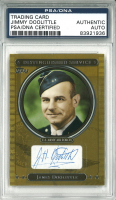 James Doolittle Signed 2007 Topps Distinguished Service #DS16 (PSA Encapsulated) at PristineAuction.com