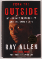 """Ray Allen Signed """"From the Outside"""" Hardcover Book (PSA COA) at PristineAuction.com"""