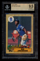Bo Jackson 1987 Topps #170 RC (BGS 9.5) at PristineAuction.com