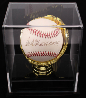Ted Williams Signed ONL Baseball with High Quality Display Case (JSA ALOA) at PristineAuction.com