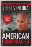 "Jesse Ventura Signed ""American Conspiracies"" Hardcover Book (PSA COA) at PristineAuction.com"