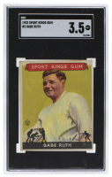 Babe Ruth 1933 Sport Kings #2 (SGC 3.5) at PristineAuction.com
