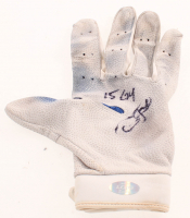 "Dexter Fowler Signed Game-Used Batting Glove Inscribed ""15 GU"" (LOJO Hologram) at PristineAuction.com"