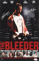 """Chuck Wepner Signed """"The Bleeder"""" 11x17 Photo Inscribed """"The Real Rocky"""" (JSA COA) at PristineAuction.com"""