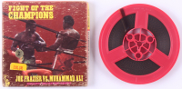 "Vintage ""Fight Of The Champions"" Joe Frazier Vs. Muhammad Ali 8mm Film Reel with Original Box at PristineAuction.com"