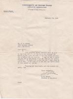 Knute Rockne Signed 1929 Letter (PSA LOA) at PristineAuction.com
