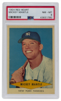 Mickey Mantle 1954 Red Heart #18 (PSA 8) at PristineAuction.com