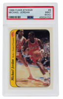 Michael Jordan 1986-87 Fleer Stickers #8 (PSA 9)(OC) at PristineAuction.com
