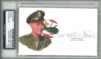 Walter T. Stewart Signed 3x5 Cut (PSA Encapsulated) at PristineAuction.com