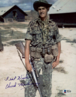 """Chuck Mawhinney Signed 8x10 Photo Inscribed """"Best Wishes"""" (Beckett COA) at PristineAuction.com"""