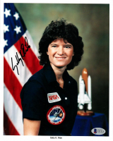 Sally Ride Signed NASA 8x10 Photo (Beckett COA) at PristineAuction.com