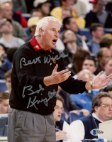 """Bobby Knight Signed Texas Tech Red Raiders 8x10 Photo Inscribed """"Best Wishes"""" (Beckett COA) at PristineAuction.com"""