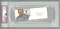 Ernest K. Gann Signed 2x5 Cut (PSA Encapsulated) at PristineAuction.com