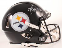 Minkah Fitzpatrick Signed Steelers Full-Size Speed Helmet (Beckett COA) at PristineAuction.com