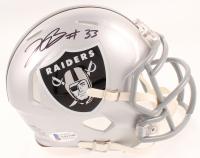 Lynn Bowden Jr. Signed Raiders Speed Mini-Helmet (Beckett COA) at PristineAuction.com